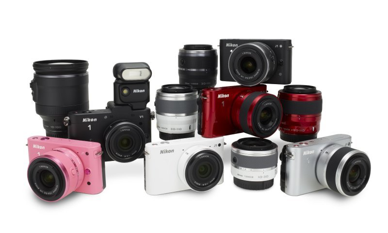Nikon V1 und J1 vorgestellt