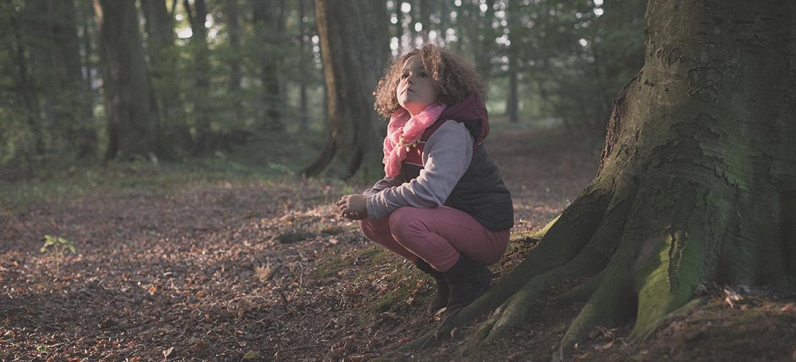 Im Wald mit Lene