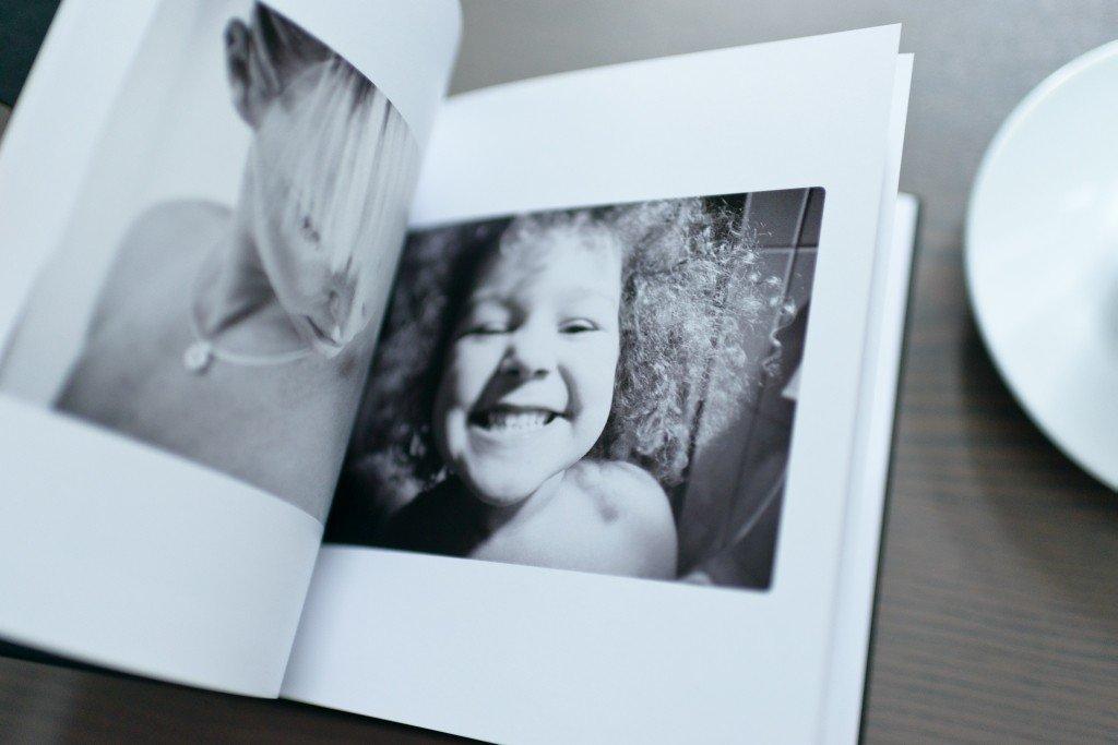 Mosaic Fotobuch aufgeschlagene Seiten