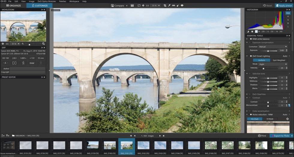 Software für die Bildbearbeitung im Moment kostenlos
