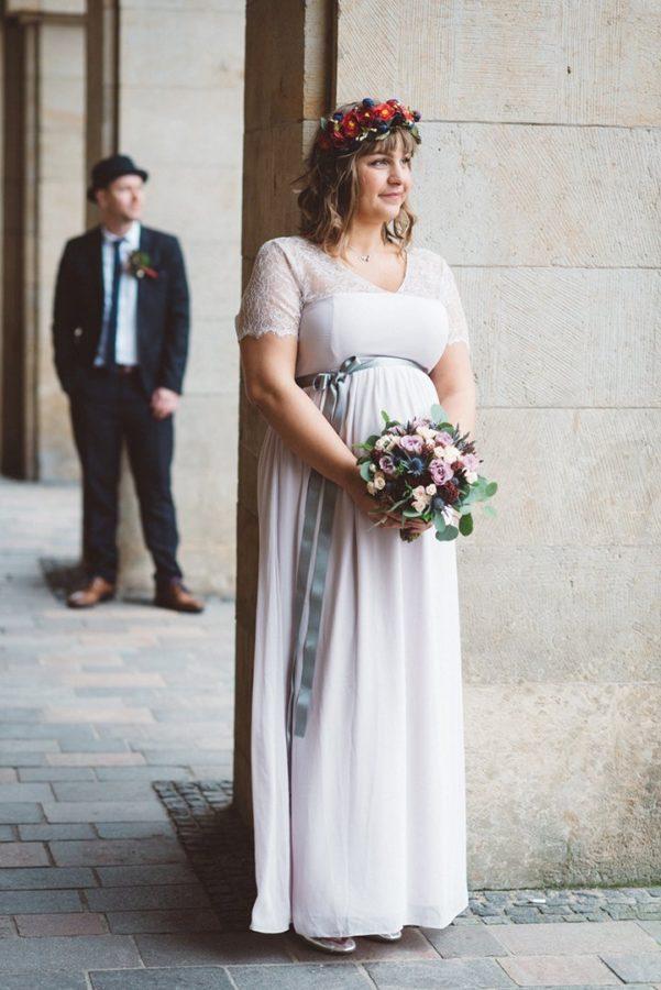 Hochzeit Braut Strauß Foto Rostock