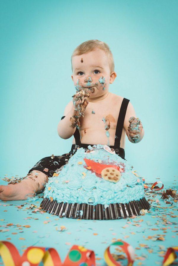 Cake Smash Studio Rostock Kinderfotografie