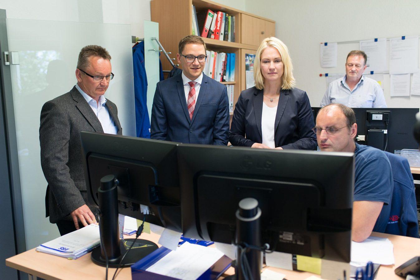 Manuel Schwesig HAB Wusterhusen Gespräch