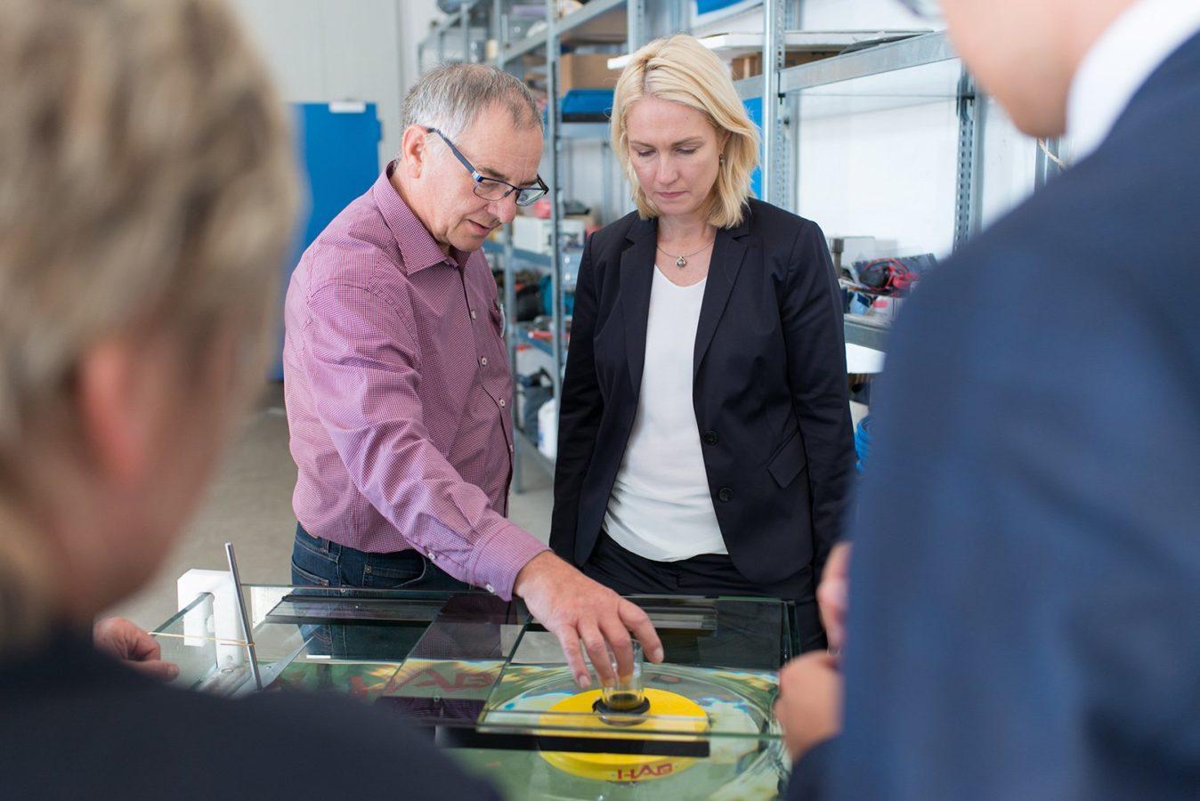 Manuela Schwesig HAB Projekt Energie