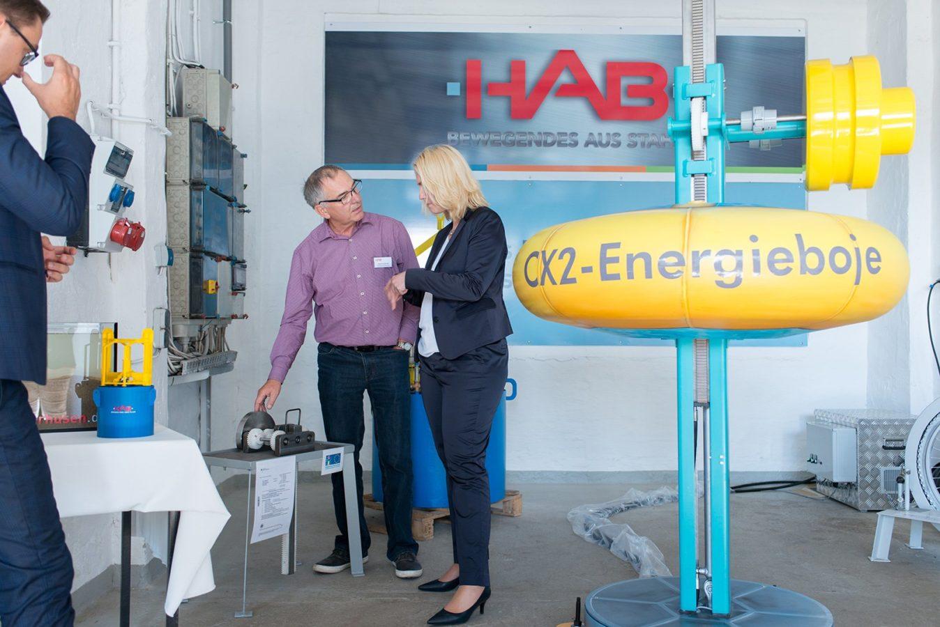 Landespräsidentin Manuela Schwesig HAB Projekt Energie