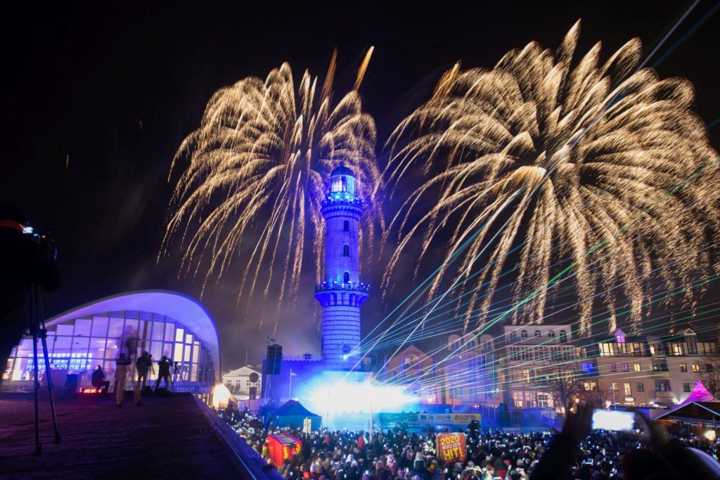 Turmleuchten in Warnemünde 2020