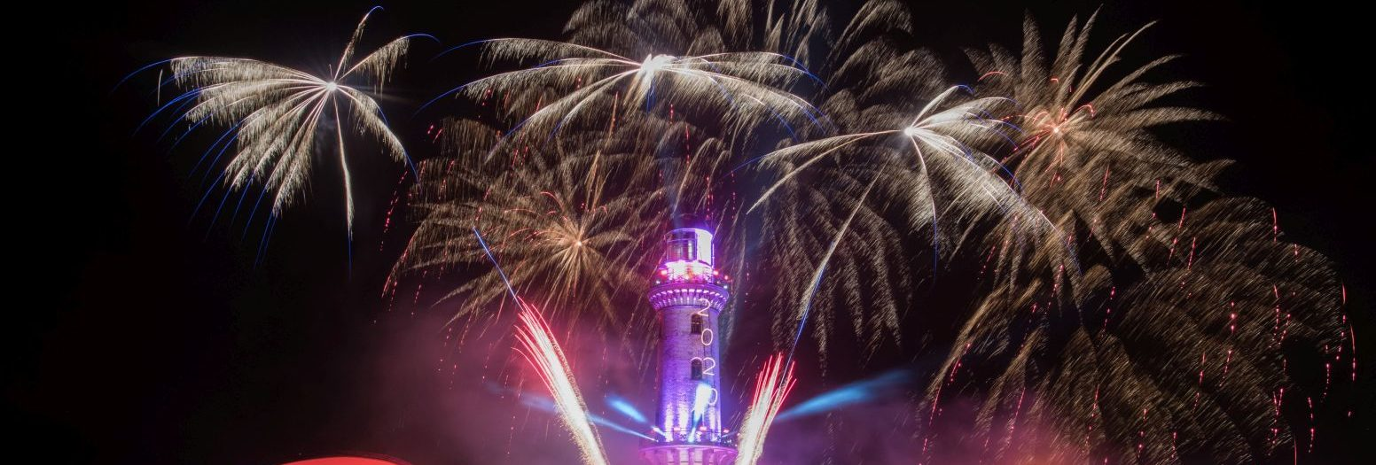 Turmleuchten 2020 in Warnemünde